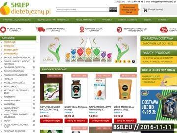 Zrzut strony Ekologiczny sklep ze zdrową żywnością - SKLEPdietetyczny.pl