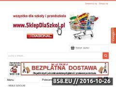 Miniaturka domeny www.sklepdlaszkol.pl