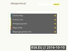 Miniaturka domeny sklepgarmin.pl