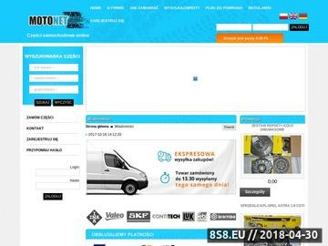 Zrzut strony Hurtownia części samochodowych Kraków