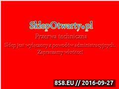 Miniaturka domeny www.sklepotwarty.pl