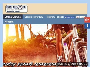 Zrzut strony KK Sport - sklep sportowy