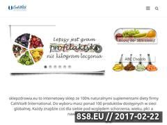 Miniaturka domeny www.sklepzdrowia.eu