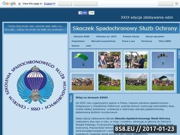 Zrzut strony Skoki spadochronowe