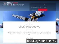 Miniaturka domeny skokitandemowe.eu