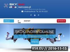 Miniaturka domeny skokiwarszawa.pl