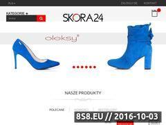 Miniaturka domeny www.skora24.pl