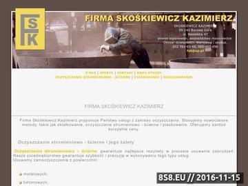 Zrzut strony Czyszczenie Warszawa