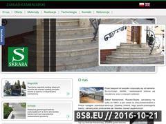 Miniaturka domeny www.skraba-granity.pl