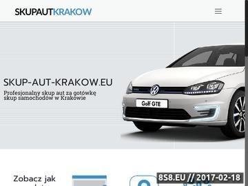Zrzut strony Autokomis Kraków