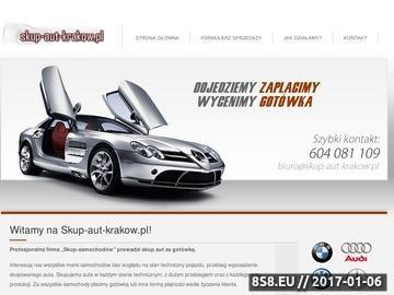 Zrzut strony Skup aut Kraków - skup samochodów Kraków, auto skup Krakow
