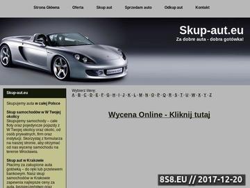 Zrzut strony Skup-aut.eu