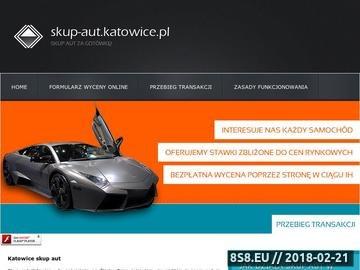 Zrzut strony Skup aut Katowice