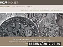 Miniaturka domeny www.skup-monet.com