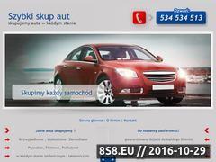Miniaturka domeny skup-samochodow-grojec.pl