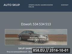 Miniaturka domeny skup-samochodow-kielce.com.pl