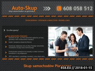 Zrzut strony Skup pojazdów osobowych za gotówkę - dojazd do Klienta i gotówka