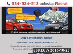 Miniaturka domeny skup-samochodow.radom.pl