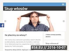 Miniaturka domeny www.skup-wlosow.pl