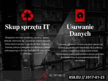 Zrzut strony Skup laptopów Skupit