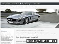 Miniaturka domeny www.skupsamochodowopole.pl