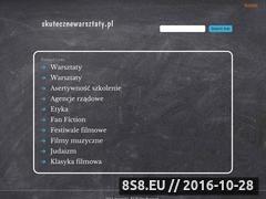 Miniaturka domeny www.skutecznewarsztaty.pl