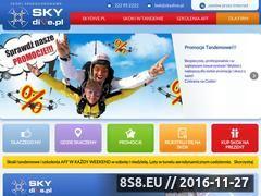 Miniaturka domeny www.skydive.pl