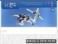 Miniaturka domeny skydiveblog.pl