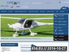 Miniaturka domeny www.skydream.pl