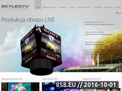Miniaturka domeny skyled.tv