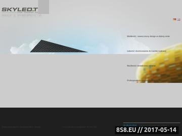 Zrzut strony Sprzedaż i wynajem ekranów LED - telebimy mobilne skyled.tv