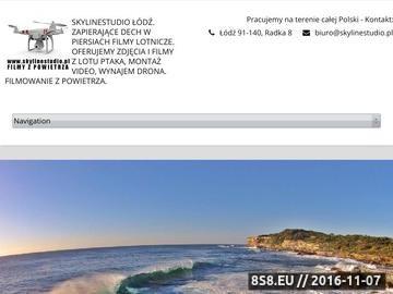 Zrzut strony Filmowanie dronem - filmy i zdjęcia z drona