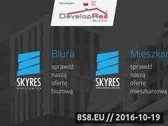 Miniaturka domeny www.skyres.eu