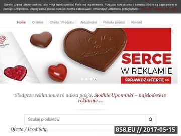 Zrzut strony Czekolady reklamowe - Slodkieupominki.pl