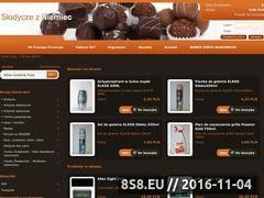 Miniaturka domeny www.slodyczezniemiec.pl