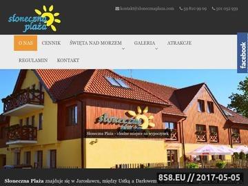 Zrzut strony Domki Jarosławiec