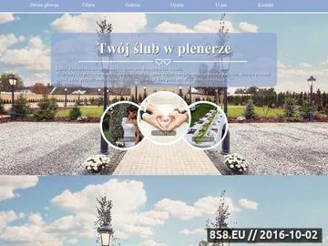 Zrzut strony Ślub poza urzędem i wesele na Podlasiu