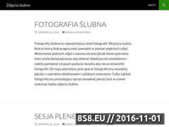 Miniaturka domeny www.slubna-fotografia.com.pl