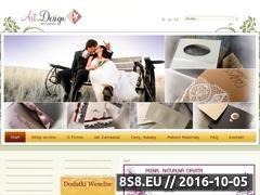 Miniaturka domeny www.slubne-zaproszenia.com.pl