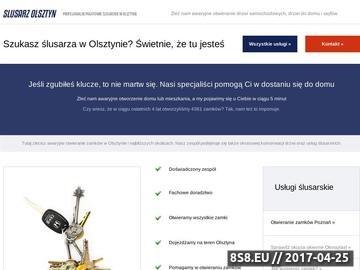 Zrzut strony Usługi ślusarskie Jerzy Bałdyga - otwieranie drzwi