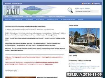 Zrzut strony Stowarzyszenie Miasto-Ogród Służew, urbanistyka oraz architektura