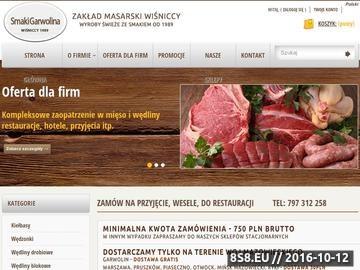 Zrzut strony Hurtowa sprzedaż mięs i wędlin wysokiej jakości