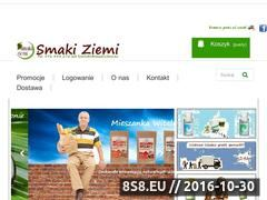 Miniaturka domeny www.smakiziemi.eu