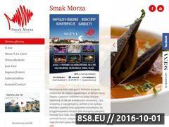 Miniaturka domeny www.smakmorza.pl