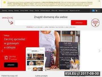 Zrzut strony SMAKOTEKA.PL - Restauracje i pizzerie w Polsce.