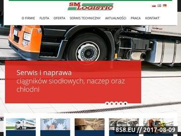 Zrzut strony Transport międzynarodowy i krajowy