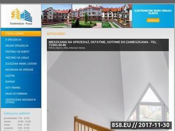 Zrzut strony Mieszkania Wrocław - Spółdzielnia Mieszkaniowa Śródmieście-Prasa