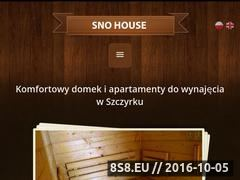 Miniaturka domeny sno-house.pl