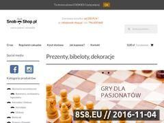 Miniaturka domeny snob-shop.pl