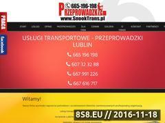 Miniaturka domeny www.snooktrans.pl